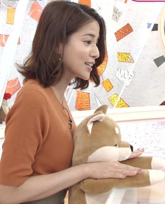 永島優美アナ おっぱいを押し当てるキャプ・エロ画像4