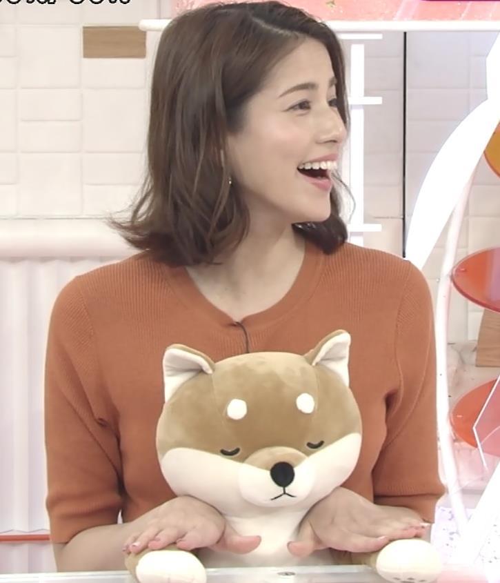 永島優美アナ おっぱいを押し当てるキャプ・エロ画像5