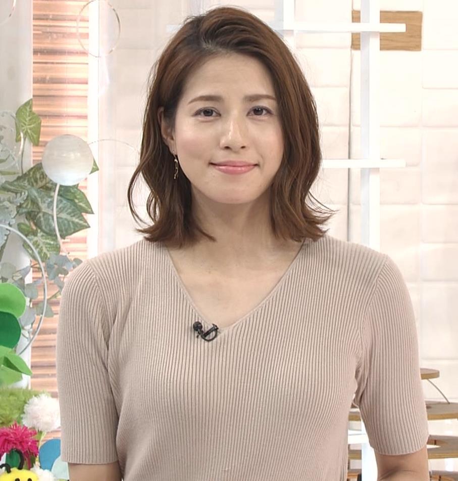 永島優美アナ ピチピチニットの横乳がエロ過ぎキャプ・エロ画像