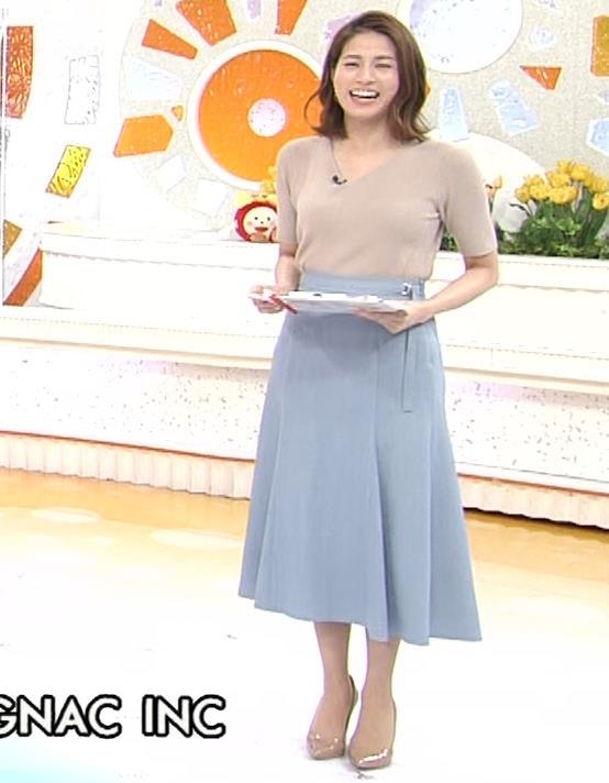 永島優美アナ ピチピチニットの横乳がエロ過ぎキャプ・エロ画像4