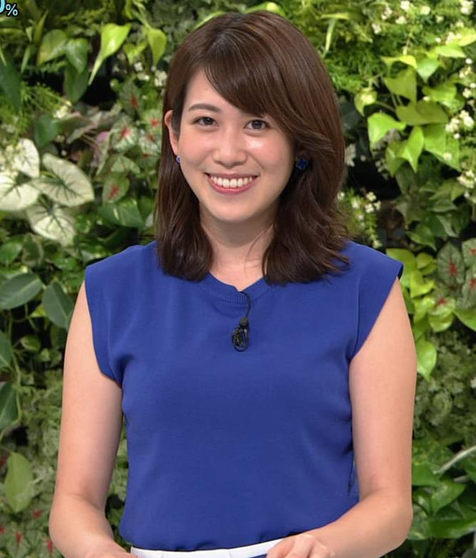 中川安奈アナ 巨乳横乳キャプ・エロ画像