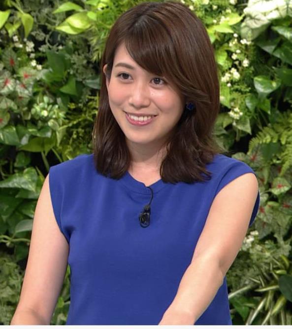 中川安奈アナ 巨乳横乳キャプ・エロ画像2
