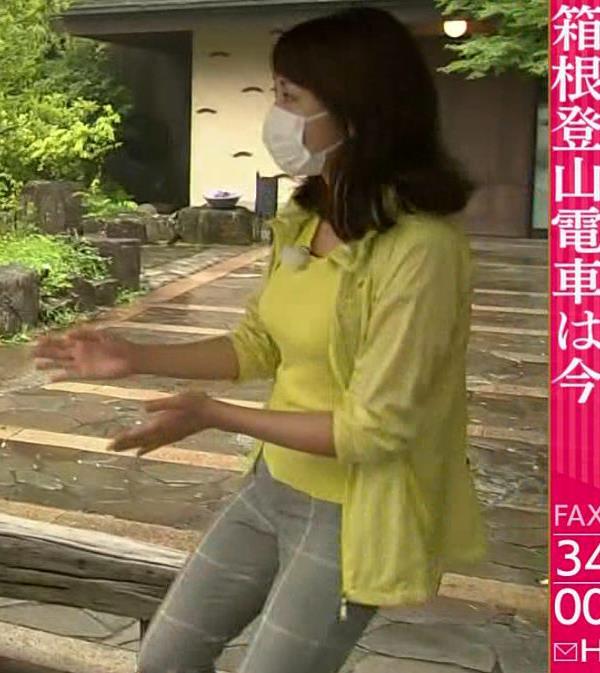 中川安奈アナ NHK期待の爆乳アナキャプ・エロ画像