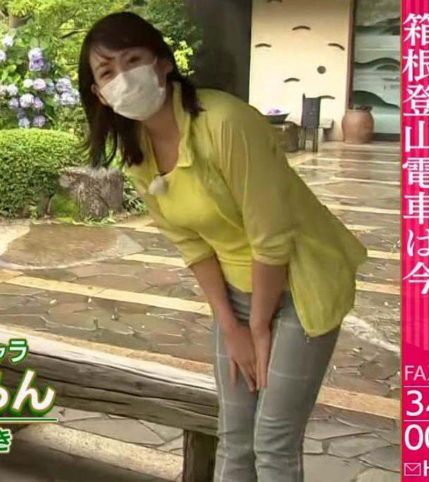 中川安奈アナ NHK期待の爆乳アナキャプ・エロ画像2