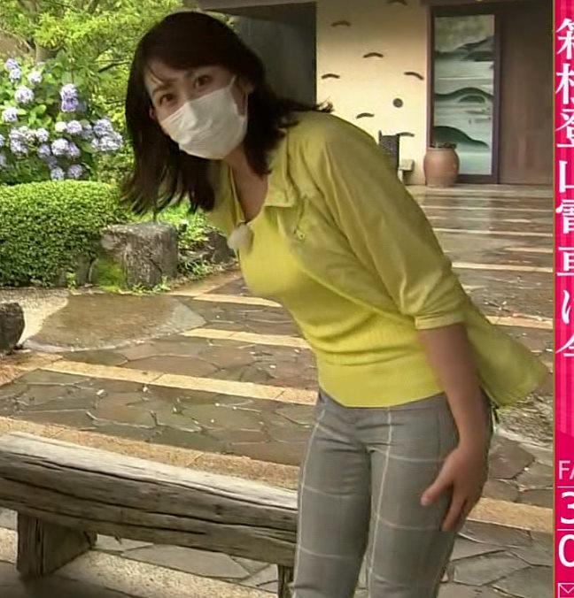 中川安奈アナ NHK期待の爆乳アナキャプ・エロ画像3