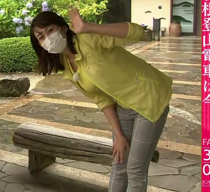中川安奈アナ NHK期待の爆乳アナキャプ・エロ画像4