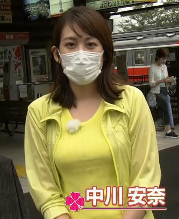 中川安奈アナ NHK期待の爆乳アナキャプ・エロ画像5