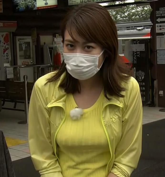 中川安奈アナ NHK期待の爆乳アナキャプ・エロ画像7