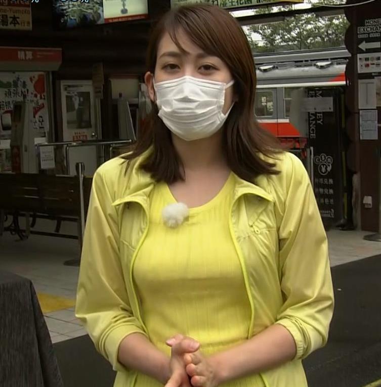 中川安奈アナ NHK期待の爆乳アナキャプ・エロ画像8