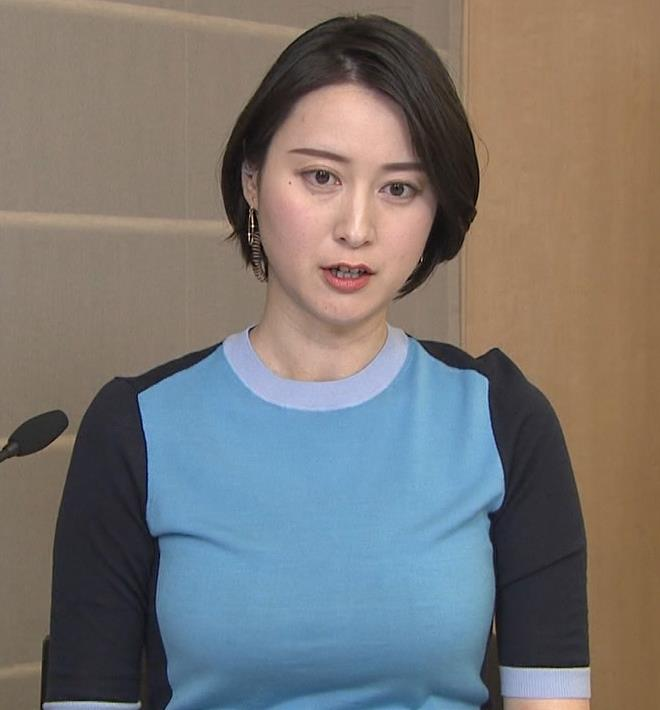 小川彩佳 おっぱいエロキャプ・エロ画像
