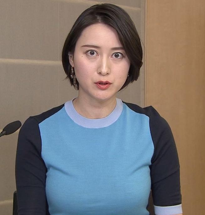 小川彩佳 おっぱいエロキャプ・エロ画像3