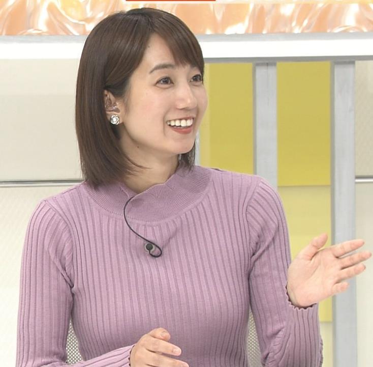 小野綾香 ニットおっぱいキャプ・エロ画像