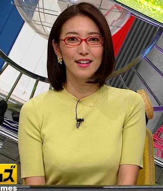 小澤陽子アナ 巨乳横乳キャプ・エロ画像6