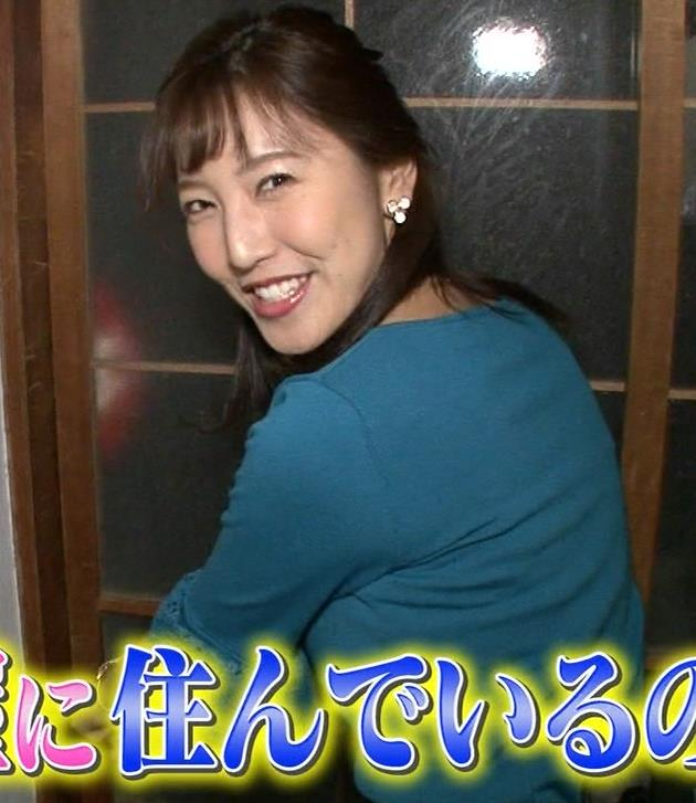 小澤陽子アナ 巨乳横乳キャプ・エロ画像