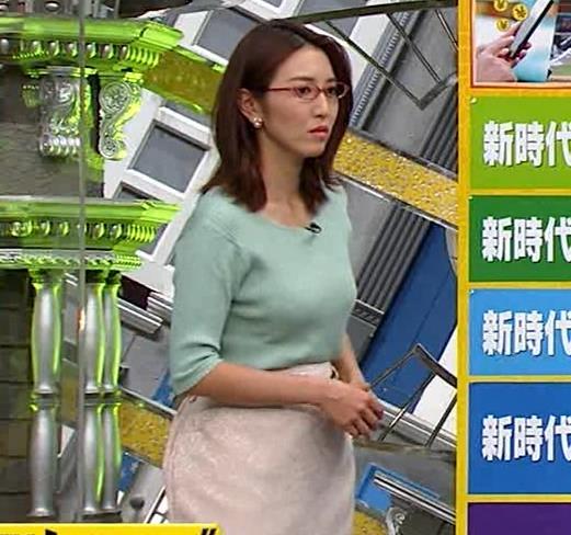 小澤陽子アナ 巨乳エロ・ニットキャプ・エロ画像11