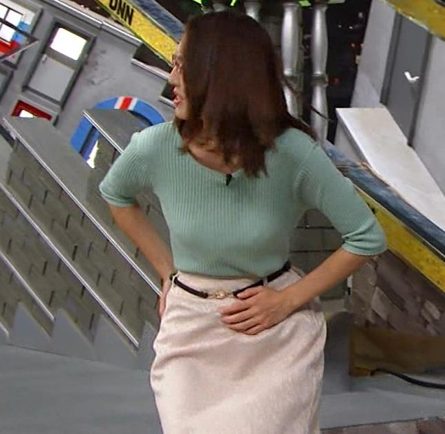 小澤陽子アナ 巨乳エロ・ニットキャプ・エロ画像14
