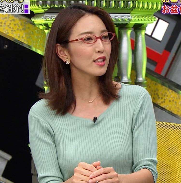 小澤陽子アナ 巨乳エロ・ニットキャプ・エロ画像3