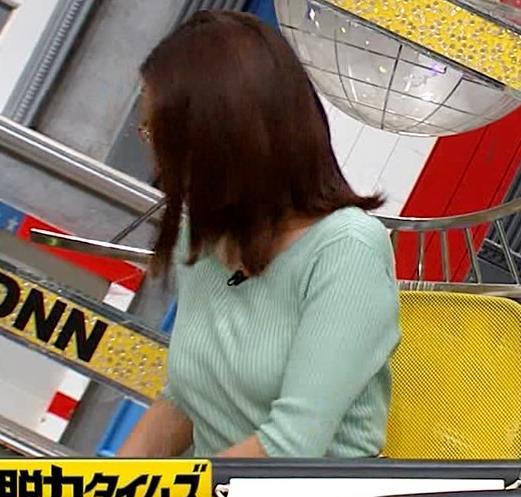 小澤陽子アナ 巨乳エロ・ニットキャプ・エロ画像6