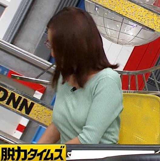 小澤陽子アナ 巨乳エロ・ニットキャプ・エロ画像8