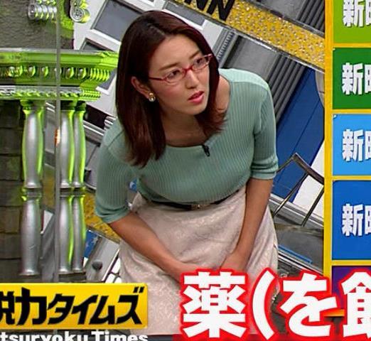 小澤陽子アナ 巨乳エロ・ニットキャプ・エロ画像10