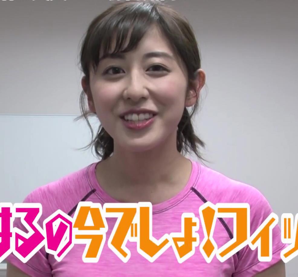 斎藤ちはるアナ Tシャツおっぱいキャプ・エロ画像2
