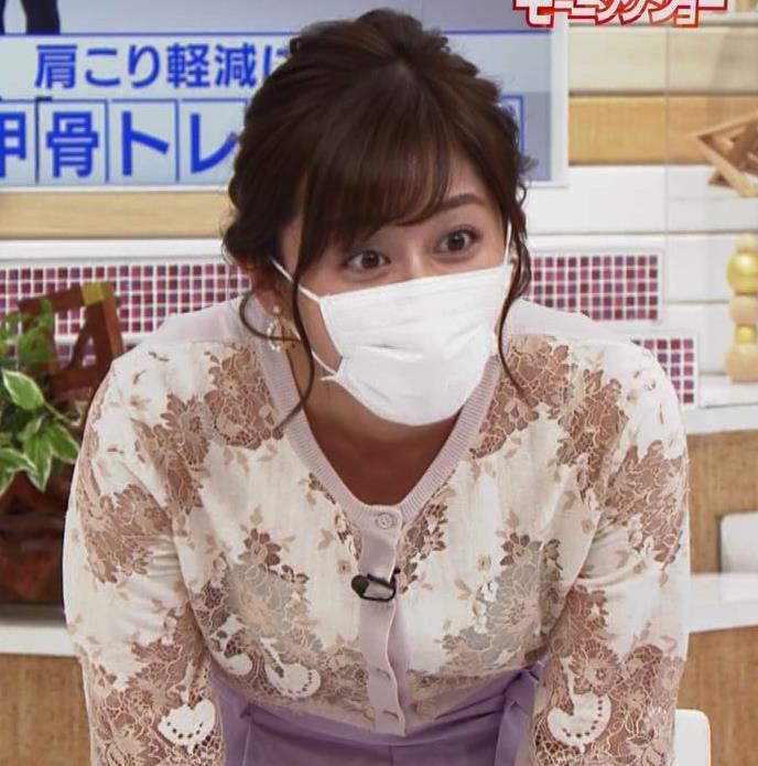 斎藤ちはるアナ キャミ透けレース衣装キャプ・エロ画像5