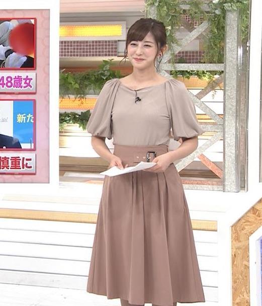 斎藤ちはるアナ おっぱいがエロい衣装キャプ・エロ画像3