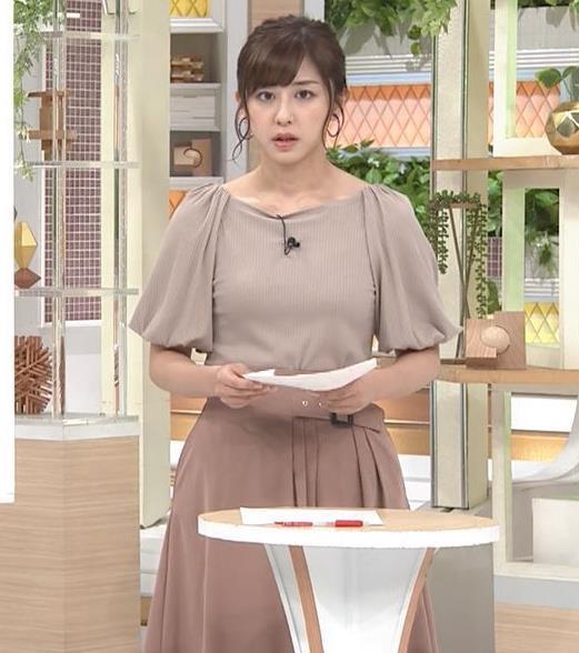 斎藤ちはるアナ おっぱいがエロい衣装キャプ・エロ画像9