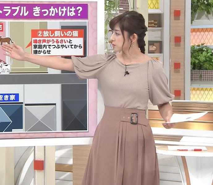 斎藤ちはるアナ おっぱいがエロい衣装キャプ・エロ画像10