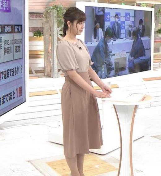 斎藤ちはるアナ おっぱいがエロい衣装キャプ画像(エロ・アイコラ画像)
