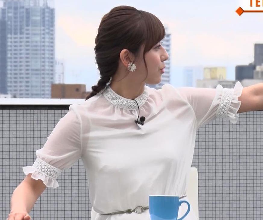 斎藤ちはるアナ ちょいおっぱいエロキャプ・エロ画像