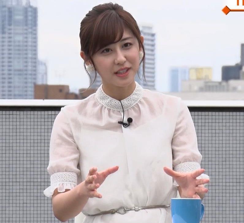 斎藤ちはるアナ ちょいおっぱいエロキャプ・エロ画像2