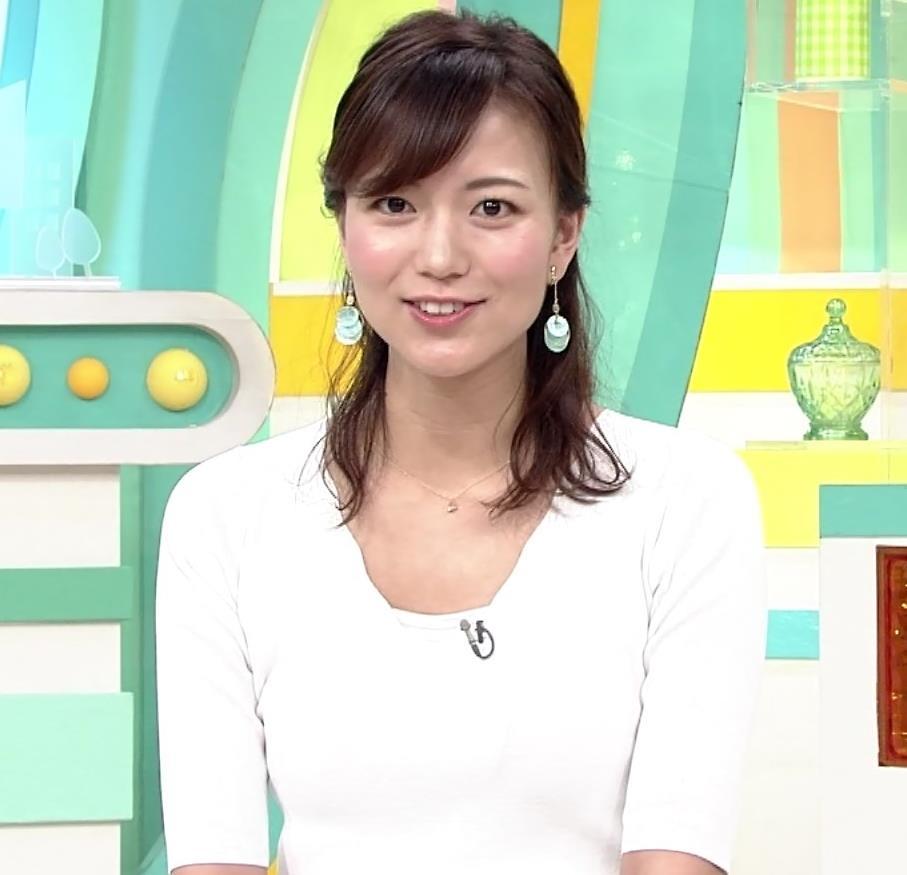 斎藤真美アナ ちょっと横乳キャプ・エロ画像3