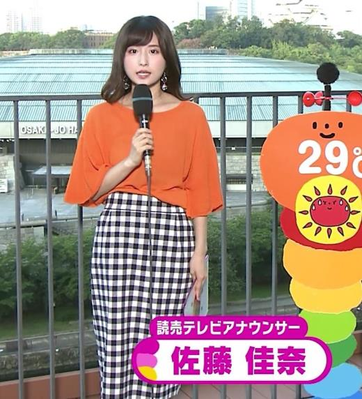 佐藤佳奈 関西のかわいい女子アナキャプ画像(エロ・アイコラ画像)