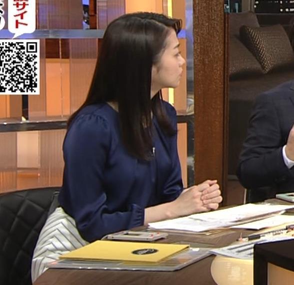副島萌生アナ 横乳キャプ・エロ画像6
