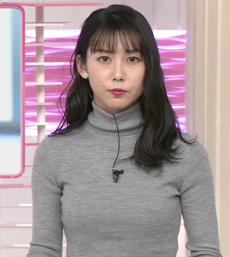 杉野真美アナ ピチピチなニットキャプ・エロ画像3