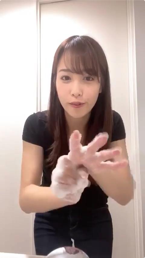 鷲見玲奈 エロ手洗いキャプ・エロ画像