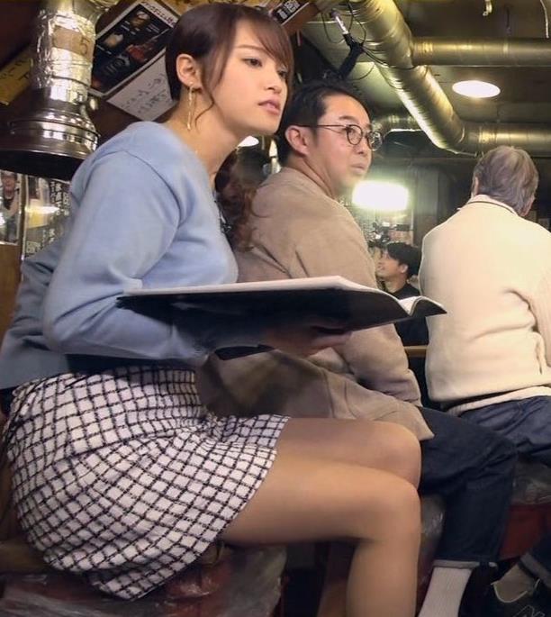 鷲見玲奈アナ 脚が細くてきれいキャプ・エロ画像5