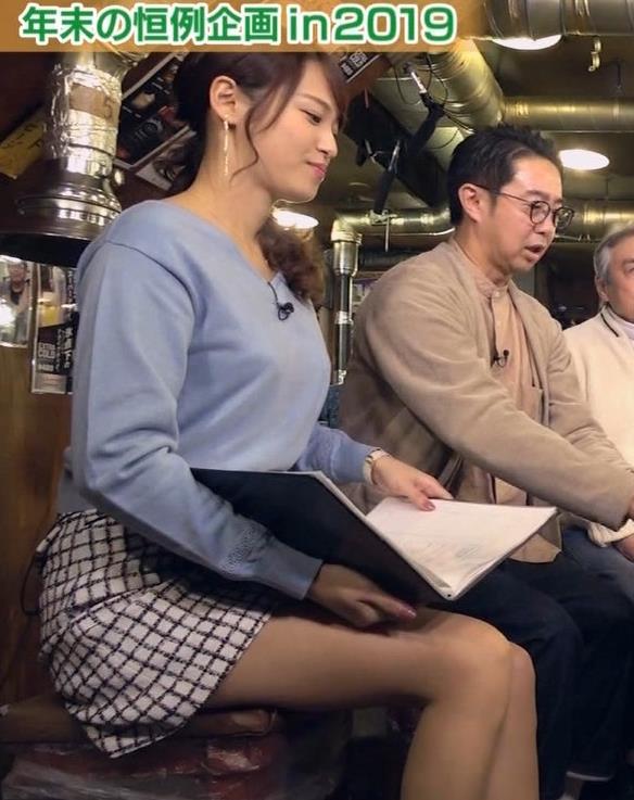 鷲見玲奈アナ 脚が細くてきれいキャプ・エロ画像6