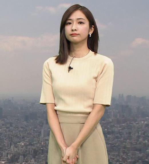 田村真子アナ ニットおっぱいキャプ・エロ画像4