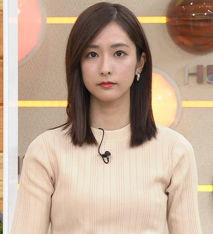 田村真子アナ ニットおっぱいキャプ・エロ画像6