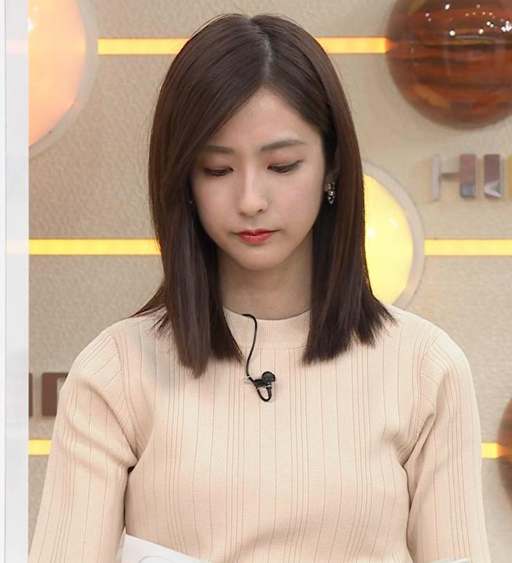 田村真子アナ ニットおっぱいキャプ・エロ画像7
