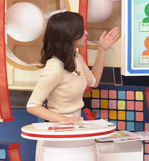 田村真子アナ エロいニット横乳キャプ・エロ画像2
