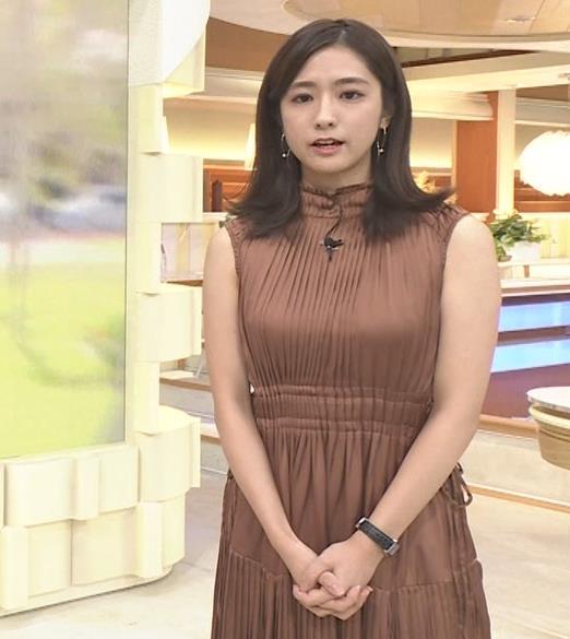 田村真子アナ セクシーなワンピースキャプ・エロ画像