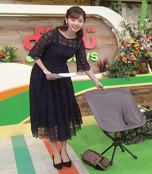 田中瞳アナ かわいい横乳キャプ・エロ画像