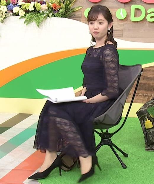 田中瞳アナ かわいい横乳キャプ・エロ画像2
