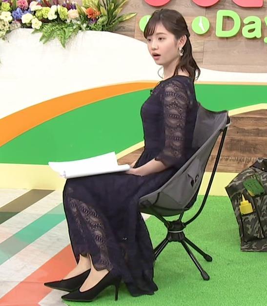 田中瞳アナ かわいい横乳キャプ・エロ画像3