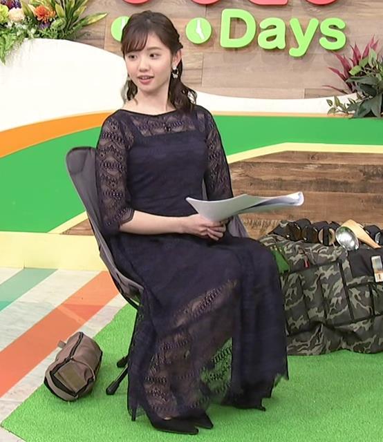 田中瞳アナ かわいい横乳キャプ・エロ画像4