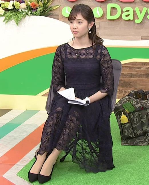 田中瞳アナ かわいい横乳キャプ・エロ画像5