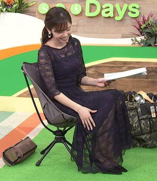 田中瞳アナ かわいい横乳キャプ・エロ画像6